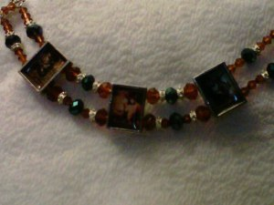 Custom necklace for Cassandra Carr contest